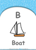 All About Me - My Body : Letter B : Boat - Nursery (2 years old)