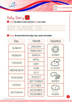 All About Me - My Emotions (I): Letter D - Kindergarten, K1 (3 years old)