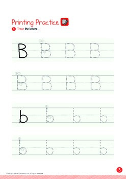 All About Me - My Face (II): Letter B - Kindergarten, K1 (3 years old)