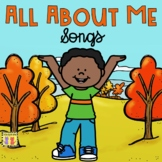 All About Me & My Family: Songs & Rhymes