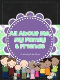 All About Me, My Family and Friends Unit