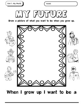 What Do I Want to Be When I Grow Up Activities for Kids