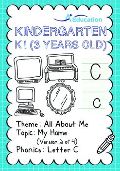 All About Me - My Home (II): Letter C - Kindergarten, K1 (3 years old)