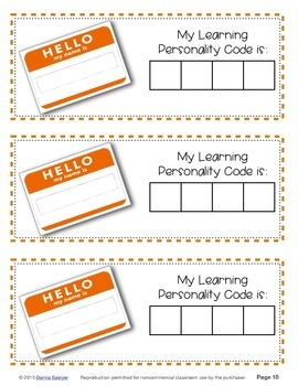 All About Me & How I Learn:  An Interactive Kit of Web Tools & Printables