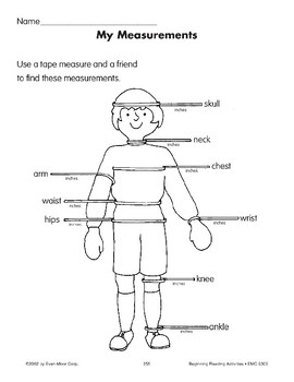 All About Me: My Measurements