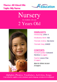 All About Me - My Name : Letter A : Ask - Nursery (2 years old)