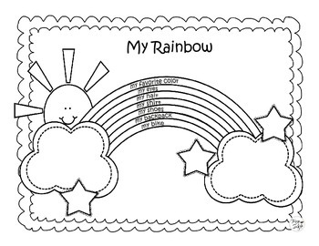 All About Me ~ My Rainbow