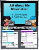 All About Me Newsletter