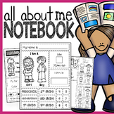 All About Me Interactive Notebook - No Prep!