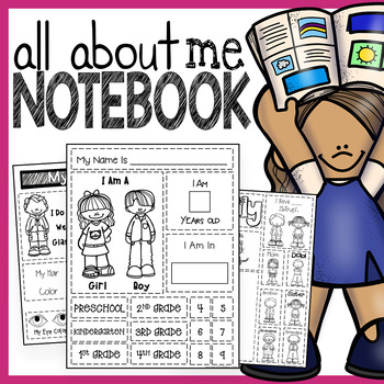 All About Me Interactive Notebook: A Cut and Paste Creativ