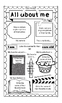 All About Me - Back to School {On Legal Sized Paper}