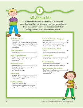 All About Me: Outdoor and Dramatic Play Activities