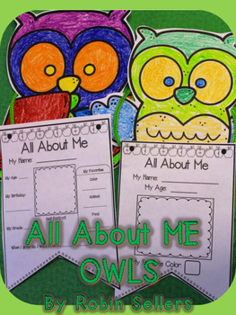 All About Me* {All About Me Pennant Owls}