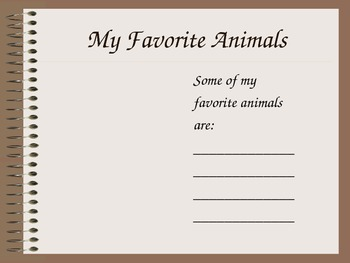 All About Me PPt Template