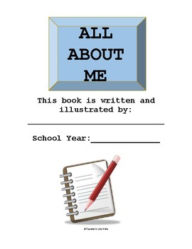 All About Me Packet
