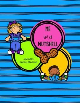 Me in a Nutshell- Back to School Writing {Freebie}