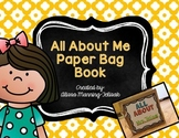 All About Me Paper Bag Book Freebie!