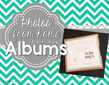 All About Me Paper Bag Photo Album