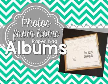 All About Me Paper Bag Photo Album