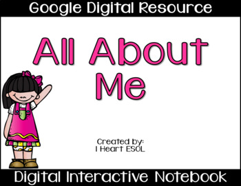 All About Me Paperless Google Drive Digital Resource