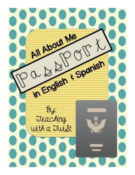 All About Me Passport {In English & Spanish}