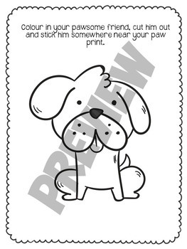 About Me Pawsome Fun Activity {Back To School}