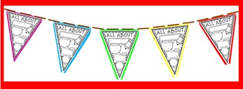 All About Me Pennant!