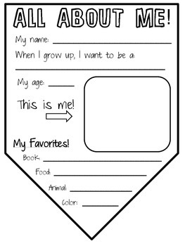 All About Me! Pennant