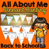 Back to School (All About Me Bunting)
