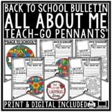 All About Me Pennant - Back to School Writing Activity [Co