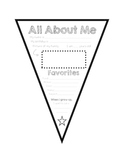 All About Me Pennant Banner