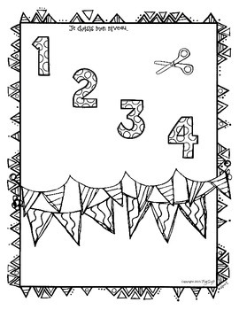 All About Me Pennant ~ French ~ Me Voici!