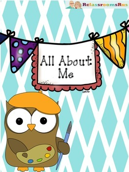 All About Me Pennants / Bunting