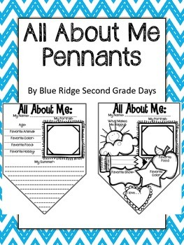 All About Me Pennants