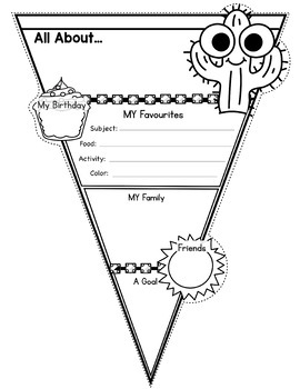 All About Me Pennants - Variety Bundle