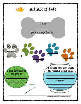 All About Me: Pets