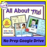 Digital Task Cards for Google Classroom: Back To School Al