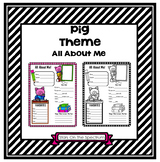 All About Me Pig Theme