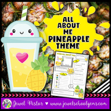 All About Me Pineapple Theme