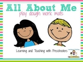 All About Me Play Dough Mats