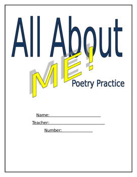 All About Me Poetry Practice