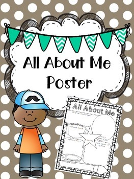 All About Me Poster