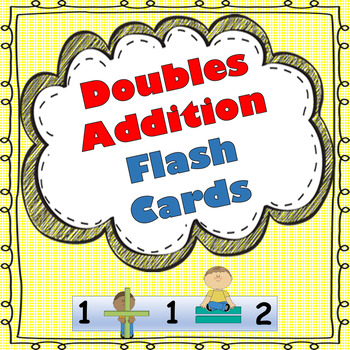 Doubles Addition Flash Cards