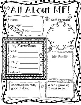 This is a graphic of Obsessed Free Printable All About Me Poster