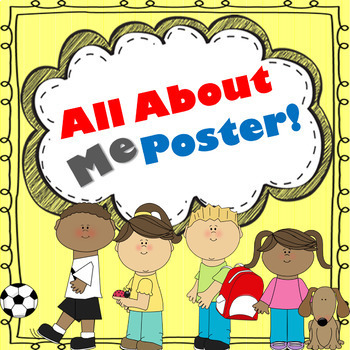 All About Me Poster!