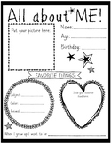 All About Me! Poster
