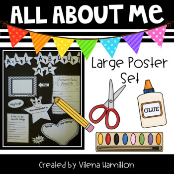 All About Me Poster Set