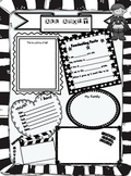 All About Me Poster~ SuperKids Theme