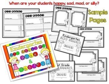 Feelings Activity Book: for kindergarten or 1st Grade