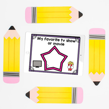 All About Me- Back To School Activities